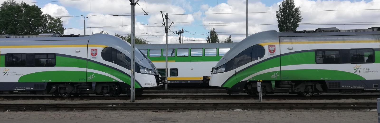 Zmiany w rozkładzie jazdy pociągów Kolei Mazowieckich w okresie od 9 czerwca do 31 sierpnia 2019 r.